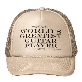 Greatest Guitar Player Yet Trucker Hats