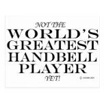 Greatest Handbell Player Yet Postcards