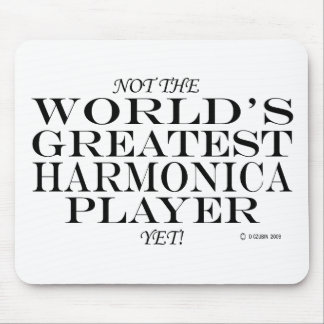 Greatest Harmonica Player Yet Mouse Pad