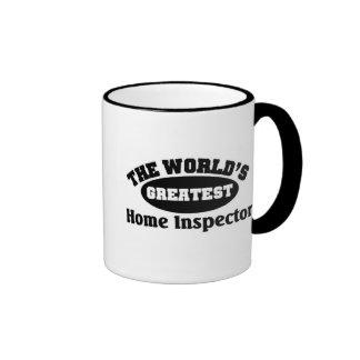 Greatest Home Inspector Ringer Mug
