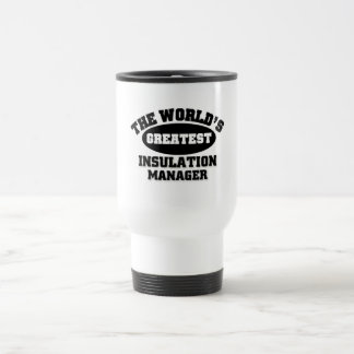 Greatest Insulation Manager Travel Mug