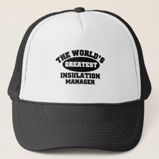Greatest Insulation Manager Trucker Hat