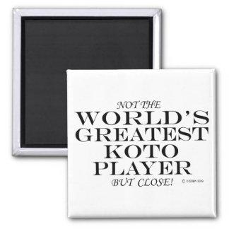 Greatest Koto Player Close Refrigerator Magnet