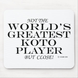Greatest Koto Player Close Mousepads