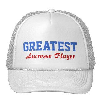 Greatest Lacrosse Player Trucker Hat