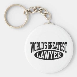 Greatest Lawyer Keychain