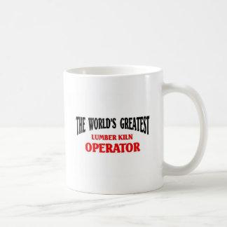 Greatest Lumber Kiln Operator Coffee Mug