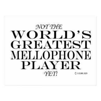 Greatest Mellophone Player Yet Postcard