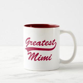 Greatest Mimi Two-Tone Coffee Mug