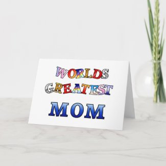 Greatest Mom card