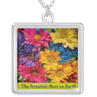 Greatest Mom on Earth Mother's day Necklace