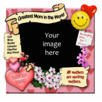 Greatest Mom Photo-Frame Statuette