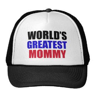 greatest  mommy design trucker hat