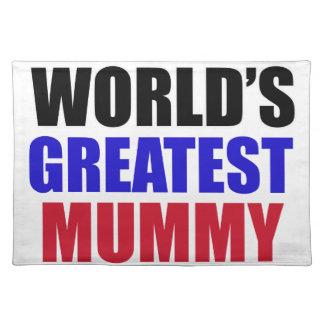 greatest mummy design place mats