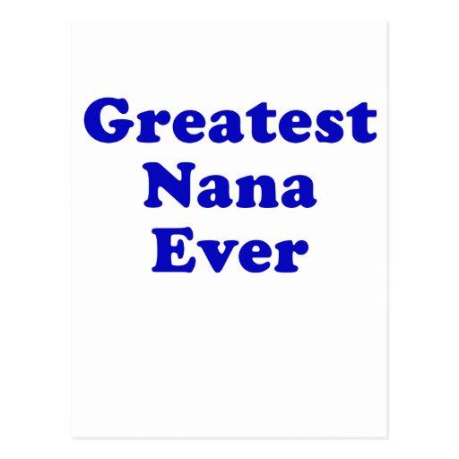 Greatest Nana Ever Post Card