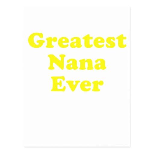 Greatest Nana Ever Post Cards