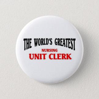 Greatest Nursing Unit Clerk Button