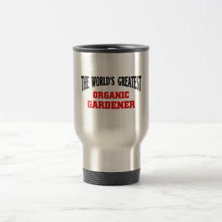 Greatest Organic Gardener Travel Mug