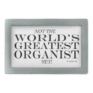 Greatest Organist Yet Rectangular Belt Buckle