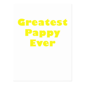 Greatest Pappy Ever Postcard