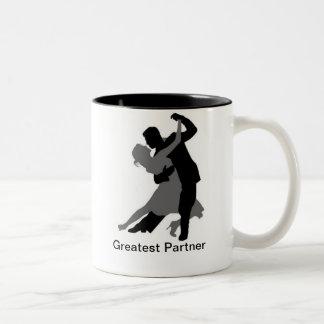 Greatest Partner Two-Tone Coffee Mug