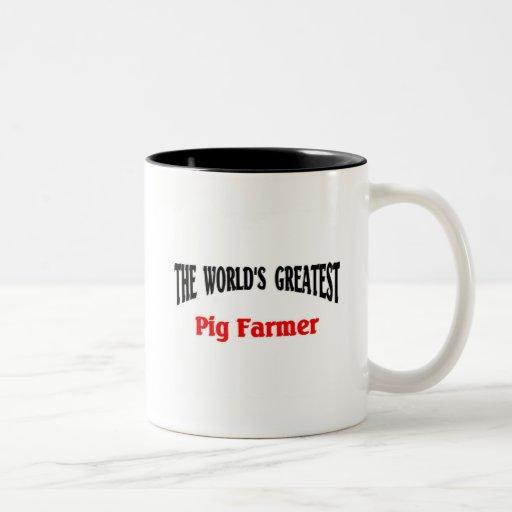 Greatest Pig Farmer Mugs