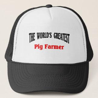 Greatest Pig Farmer Trucker Hat