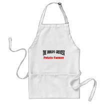 Greatest Potato Farmer Adult Apron