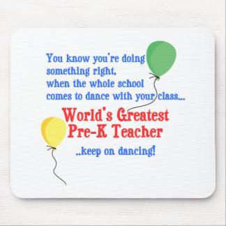 Greatest Pre-K Teacher Mousepad