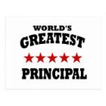 Greatest Principal Postcard
