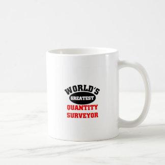 Greatest Quantity Surveyor Classic White Coffee Mug