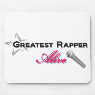 Greatest Rapper Alive Mouse Pad