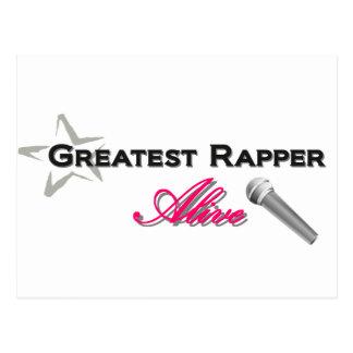 Greatest Rapper Alive Postcard