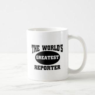 Greatest Reporter Classic White Coffee Mug