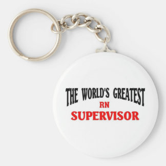 Greatest RN Supervisor Keychain