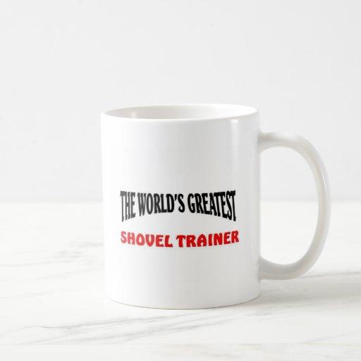 Greatest shovel trainer classic white coffee mug