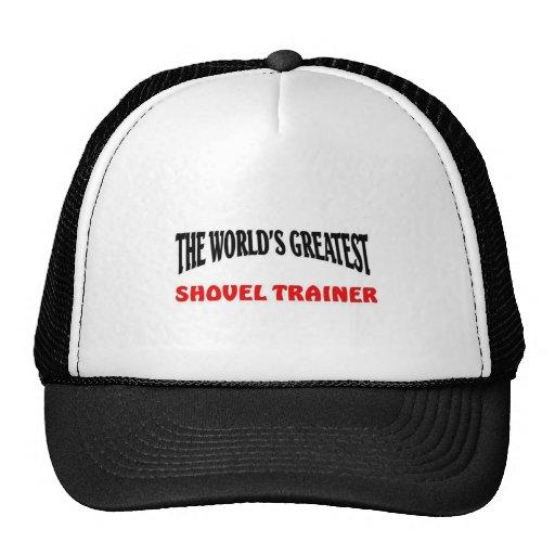 Greatest shovel trainer trucker hat