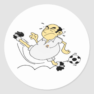 Greatest Soccer Player Classic Round Sticker