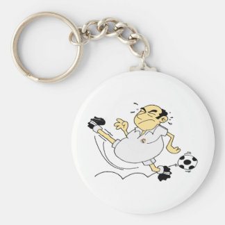 Greatest Soccer Player Keychain
