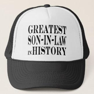 Greatest Son in Law in History Trucker Hat