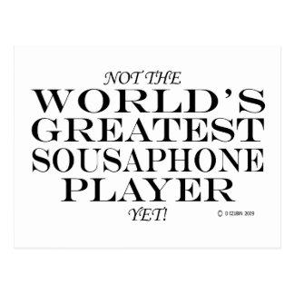 Greatest Sousaphone Player Yet Postcard