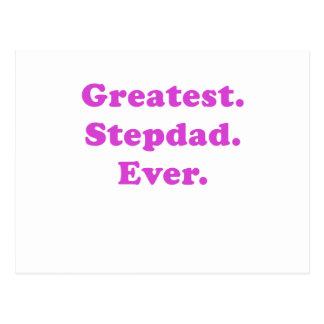 Greatest Stepdad Ever Postcard