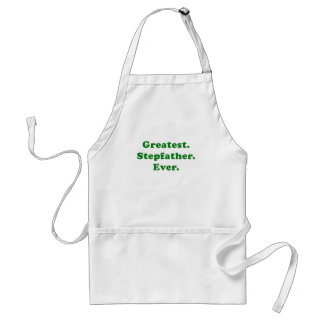Greatest Stepfather Ever Adult Apron