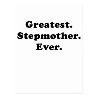 Greatest Stepmother Ever Postcard