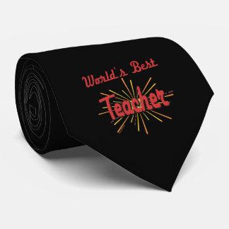 Greatest teacher Gifts Neck Tie