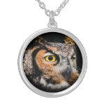 Greathorned Owl Locket