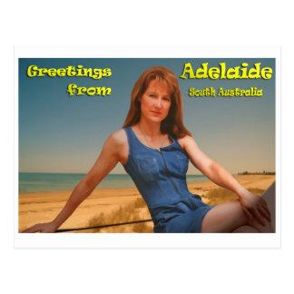 Greatings de Adelaide Postales