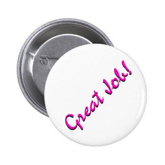 GreatJob Pinback Buttons