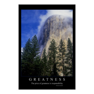 Greatness Poster