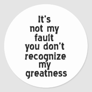 Greatness Sticker